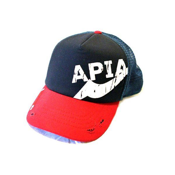 APIA Pro Cap Navy Red
