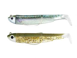 BM Double Combo Shore Kaki Paillete Ghost Minnow